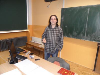 Cyril Podolský: Máte tady skvělé studenty