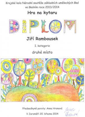 Vynikající Jiří Rambousek