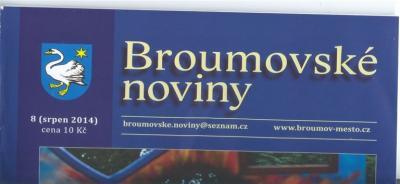 V prodeji nové Broumovské noviny