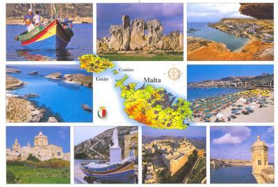 Františel Langer zdraví z Malty