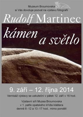 Rudolf Martinec: Kámen a světlo
