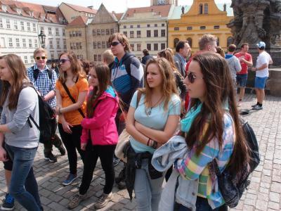 Exkurze 1.ročníku: Antické a latinské reálie - Praha