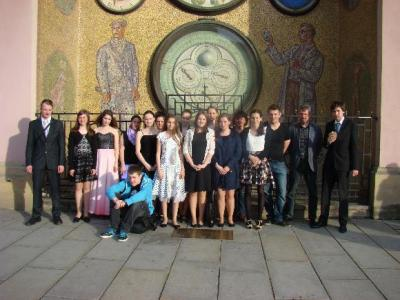 Ve vítězném orchestru osm našich studentů