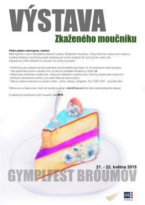 Zkažený moučník: Výstava v rámci Gymplfestu