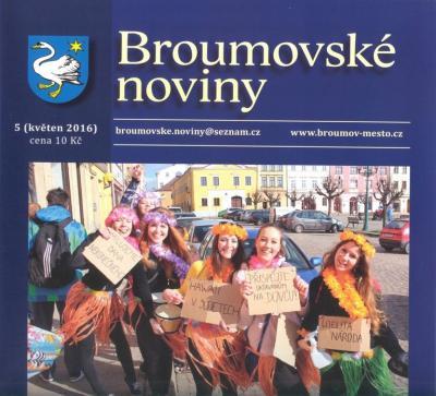 Ještě nemáte Broumovské noviny?