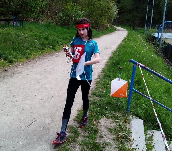 Barbora Jirásková z primy má bronz z Mistrovství republiky v rádiovém orientačním běhu