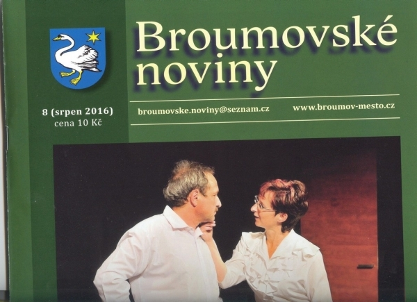 Broumovské noviny s výraznou gymnaziální stopou