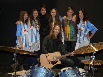Koncert školní kapely Wajnot?