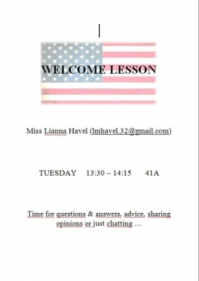 Lianna Havel:  Welcome lesson