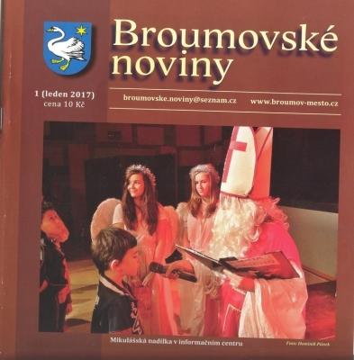 Broumovské noviny: Jako vždy výrazná gymnaziální stopa