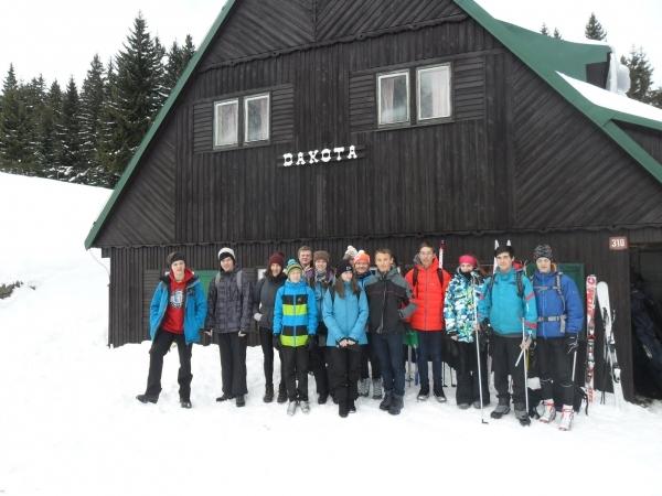 Lyžařský kurz kvinty a 1.ročníku: Pohoda v Krkonoších