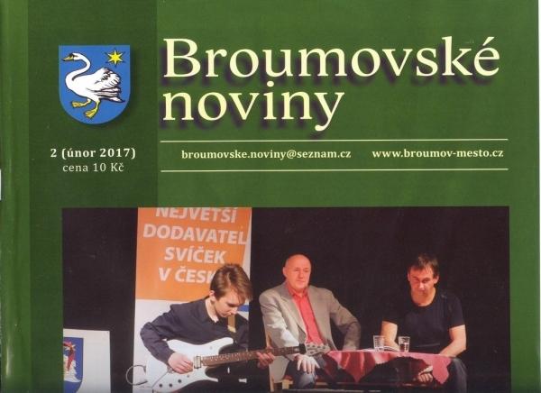 Únorové Broumovské noviny již v prodeji
