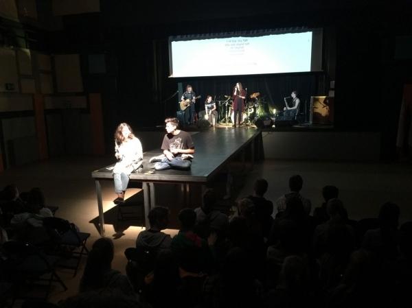 Pusťte si hudbu z gymnaziálního projektu Zahrajme to spolu!