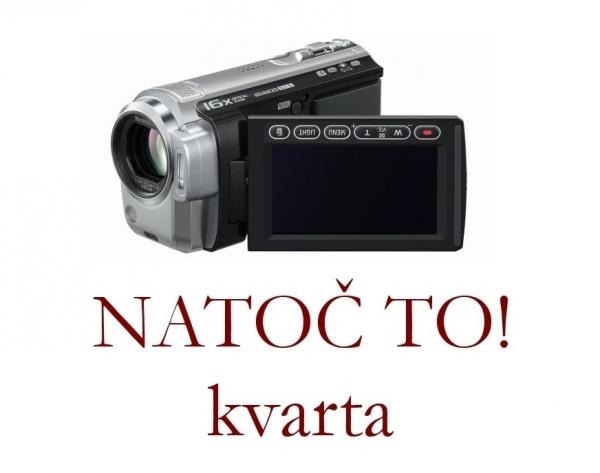 V rámci projektu kvarty NATOČ TO! vzniklo několik studentských videoklipů využívajících rozličných prostor naší školy.