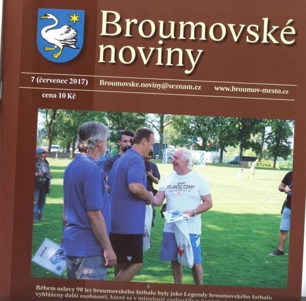 Zajímavosti ze života naší školy v Broumovských novinách