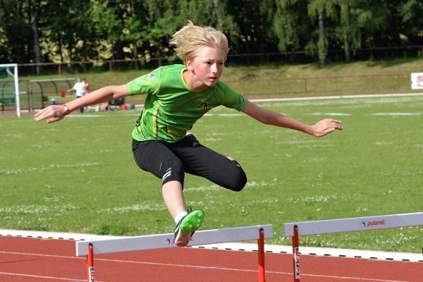 Studují na gymnáziu: Jonáš Kohl - nadějný atlet v sekundě