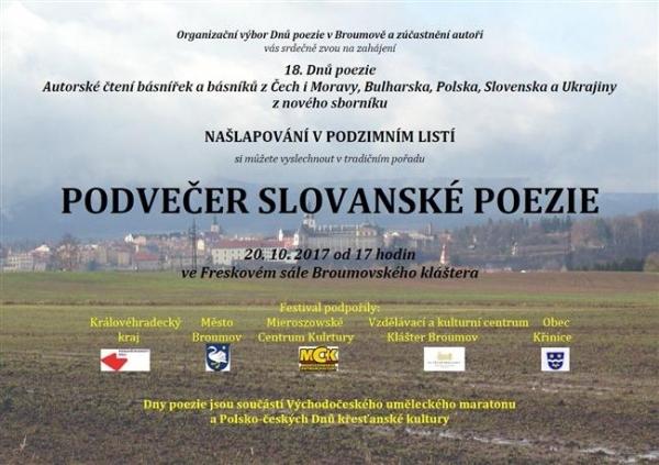 Setkání se slovanskými básníky