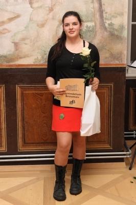 Nadační fond Gymnázia Broumov ocenil nejlepší studenty školy