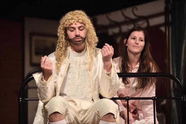 Eva Kroupová: Noc divadel – trojitý nářez