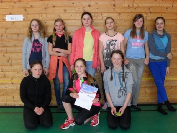 Okresní kolo přehazované: Mladší žákyně bronzové