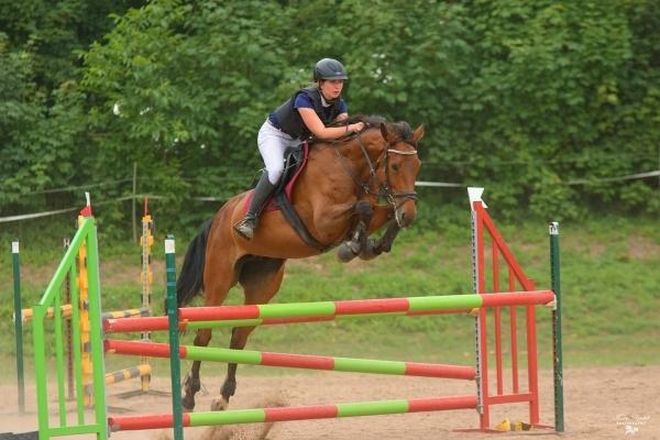 Studují na gymnáziu: Kateřina Ehlová, jezdectví - na Mistrovství republiky v elitní desítce