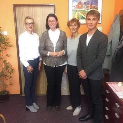 Štěpán Chládek: Paní Němcová měla z našich studentů velmi pozitivní dojem