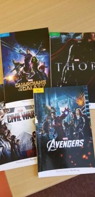 Studium angličtiny: Nové knížky od Marvelu