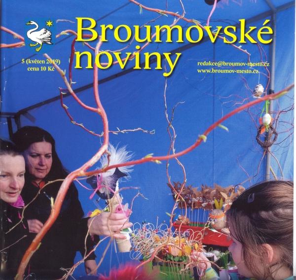 Květnové Broumovské noviny: Překvapení uprostřed