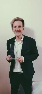 Martin Frömmel úspěšně studuje ve Velké Británii
