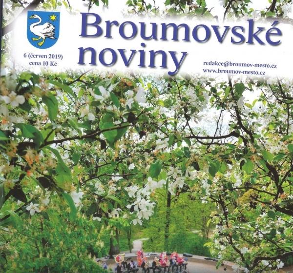 Pro příznivce naší školy: Červnové číslo Broumovských novin již v prodeji