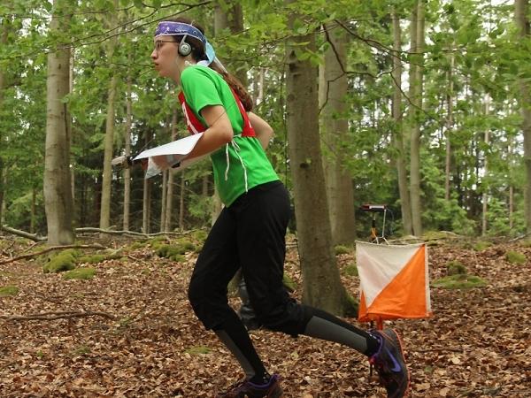 Barbora Jirásková se kvalifikovala na Mistrovství světa v rádiovém orientačním běhu