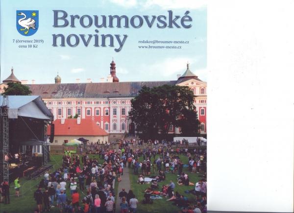 I prázdninové Broumovské noviny přináší zajímavosti o našem gymnáziu