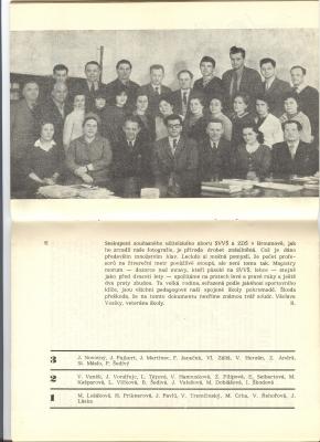Z historie: Pedagogický sbor z roku 1965 - oslavy 20.výročí založení českého gymnázia
