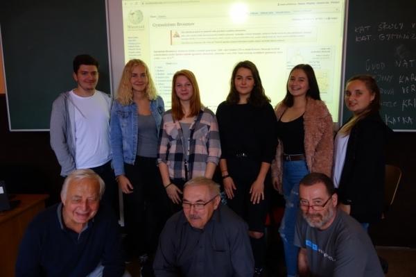 Wikipedické heslo Gymnázium Broumov je na světě