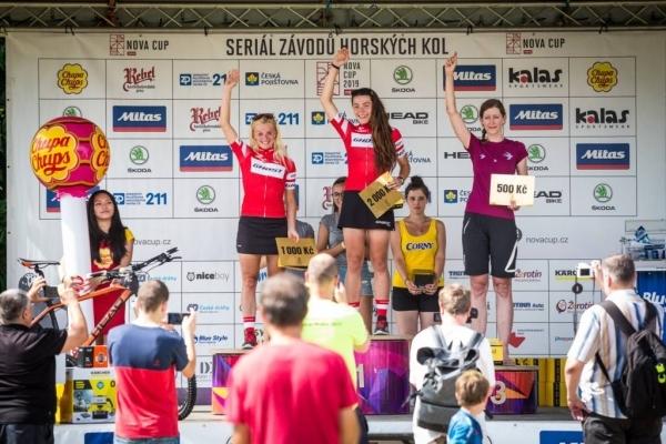 Maturantka 2014 Lenka Fridrichová celkovou vítězkou Nova cupu 2019