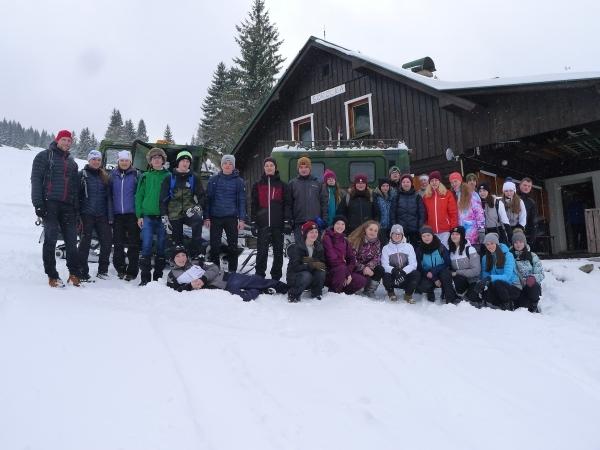 Lyžařský výcvik: Báječný týden v Javořím dole