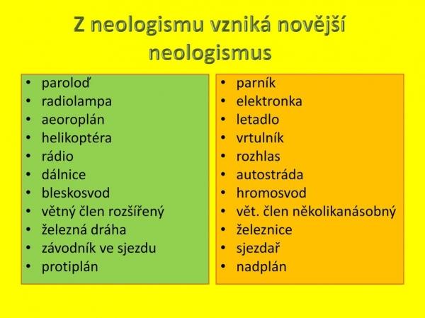 Víte, že naše absolventka Olga Martincová je přední odbornicí na neologismy?