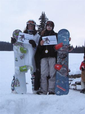 Lyžařský přebor sekundy v obřím slalomu - březen 2010