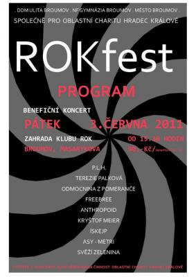 Navštivte v pátek klub ROK - Benefiční koncert