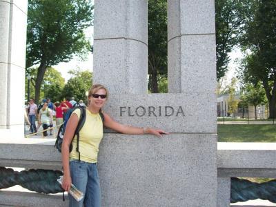 Marie Tylšová ( maturita 2007) zdraví z Floridy