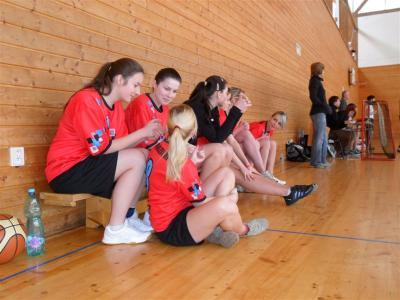 Pořádali jsme Okresní finále v basketbalu dívek