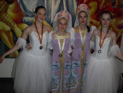 Psali o nás - úspěšné baletky Jana Kejzlarová a Barbora Hovorková