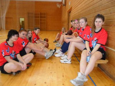 Pořádali jsme Okresní finále basketbalu dívek