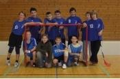 Florbal- mladší žáci gymnázia - 5.místo okrskové kolo 2009