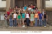 Fotky tříd z konce školního roku 2006/07