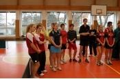 Krajský přebor dívek -stolní tenis - družstva - 11/2013