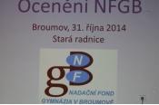 Ocenění Nadačního fondu 2014