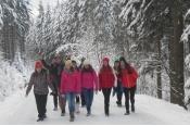 Lyžařský výcvik kvinty a 1.A - leden 2016