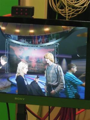 Projekt Televize v televizi - naši studenti v ČT