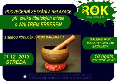 Klub ROK- akce na středu 11.12.